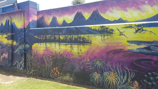 Ages Of the Tweed Mural