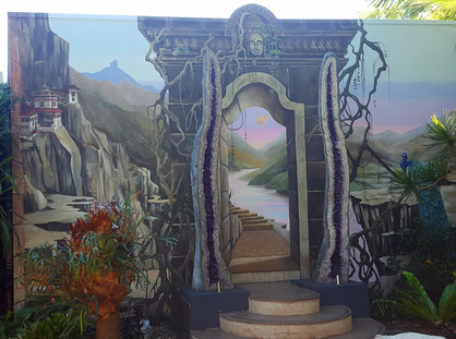 Crystal Castle Secret Temple