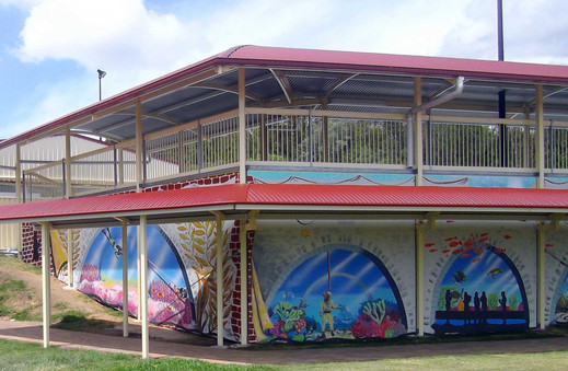Coomera Anglican College Mural