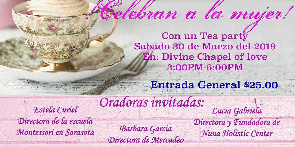 Tea Party celebrando a la Mujer.
