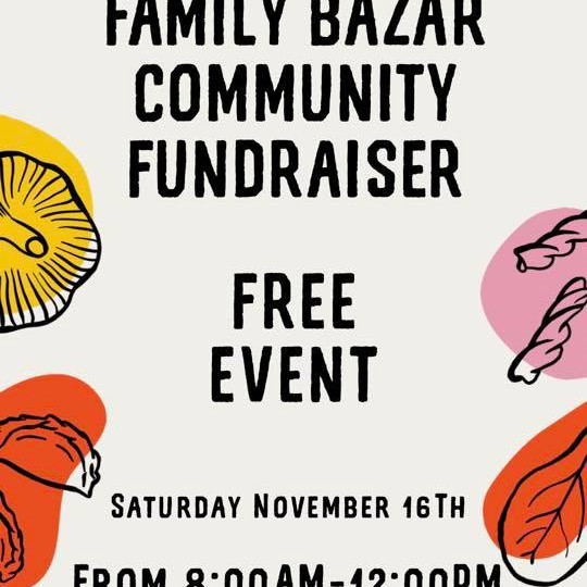 Family Bazar community fundraiser