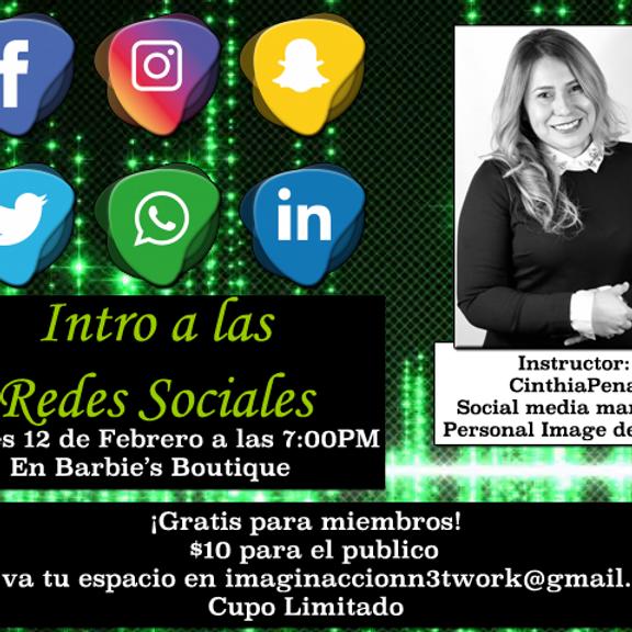 Intro a las Redes Sociales
