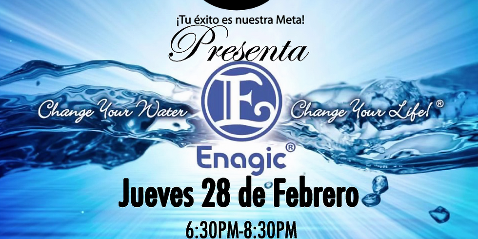 Enagic-Change your water, change your life.