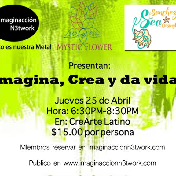 Imagina, crea y da vida