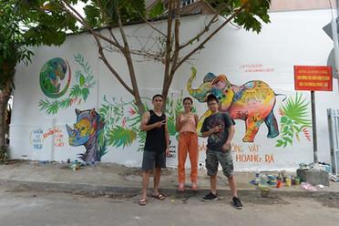 Mural team
