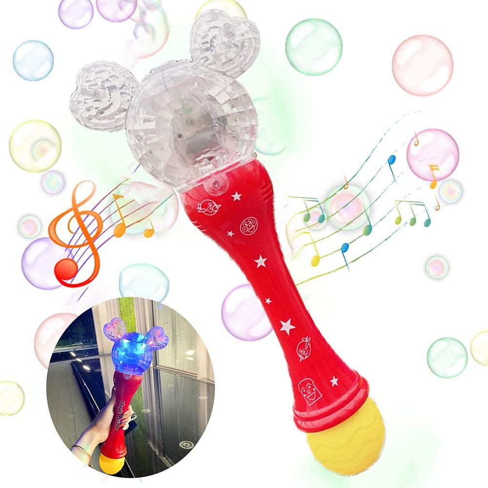 automatic bubble wand mickey