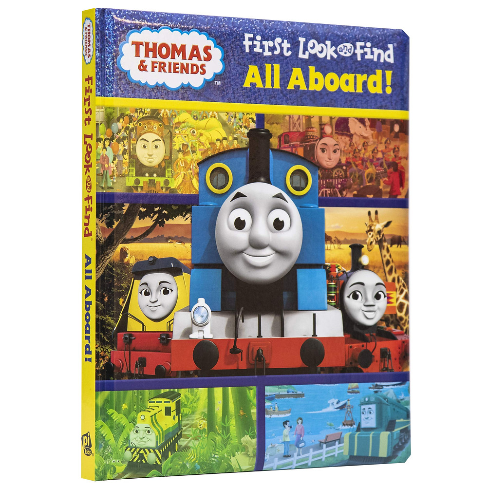 Thomas & Friends Look and Find book for distraction