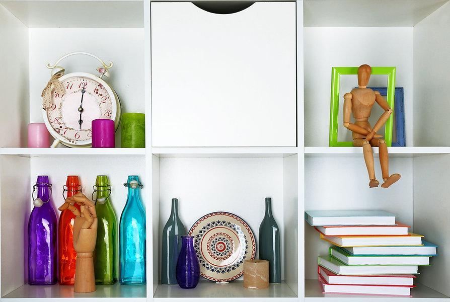 Organized storage units