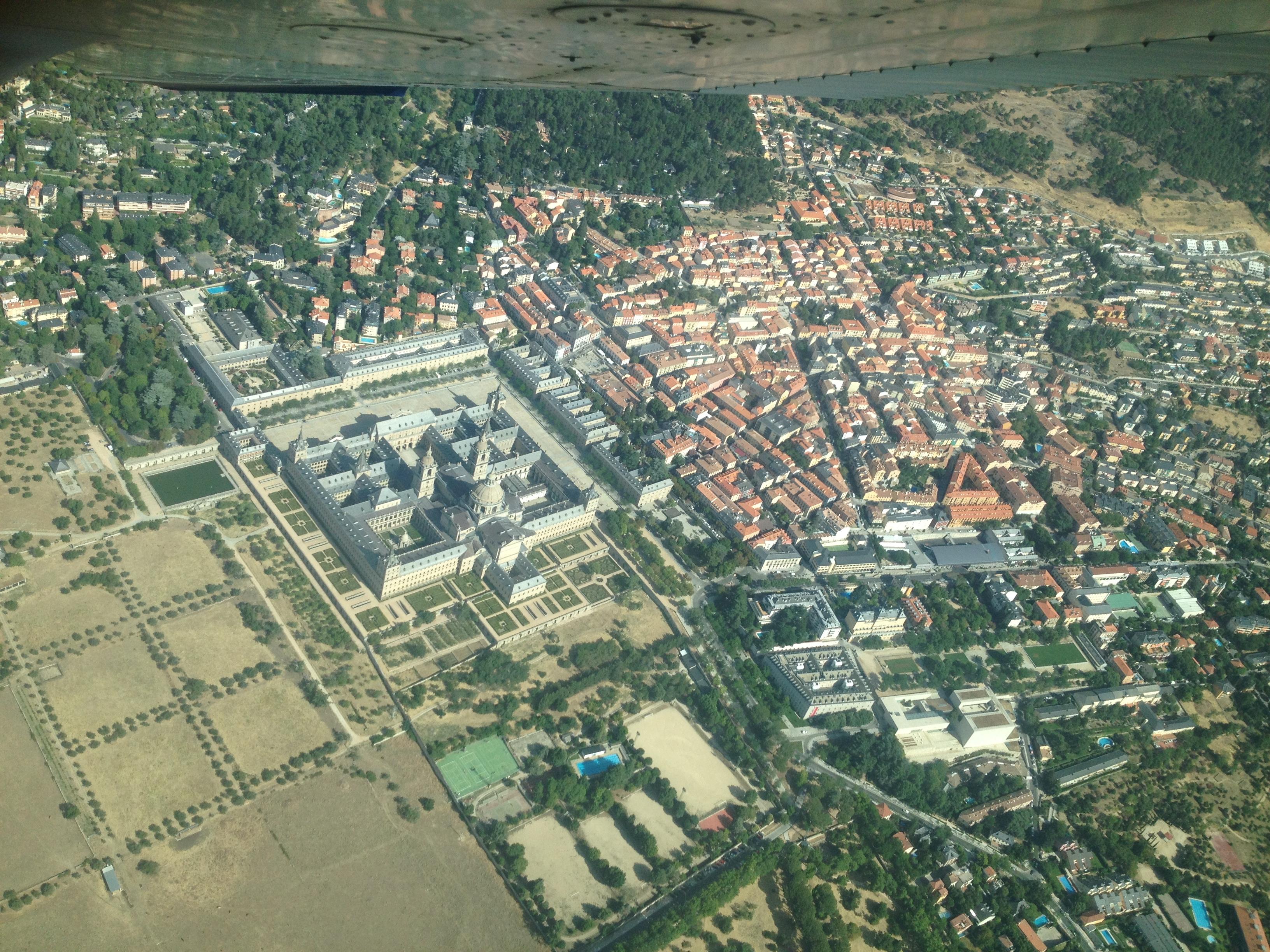 Vista Aerea de El Escorial
