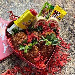 Tamales & Spicy Strawberries