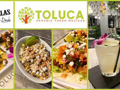 Dallas Vegan Drinks January - Toluca Organic