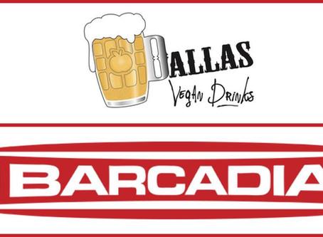 Dallas Vegan Drinks September—Barcadia