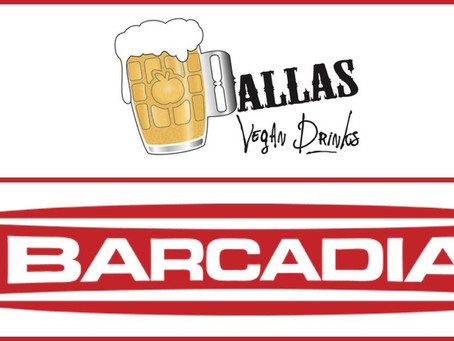 Dallas Vegan Drinks September—Barcadia
