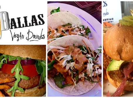 Dallas Vegan Drinks July—The Libertine Bar