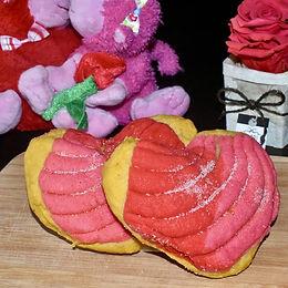 Heart Conchas