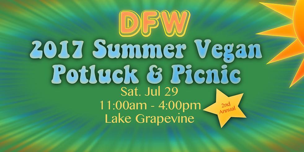 2nd Annual DFW Vegan Potluck & Picnic