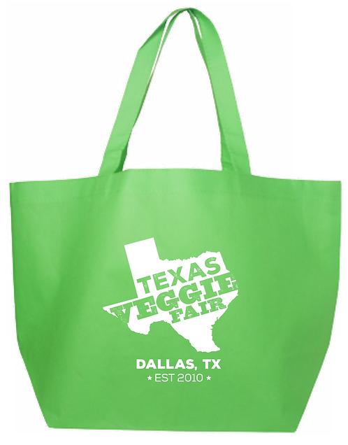 Texas Veggie Fair Tote Bag