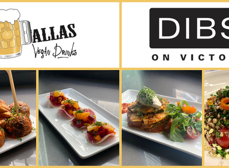 Dallas Vegan Drinks August at DIBS on VICTORY