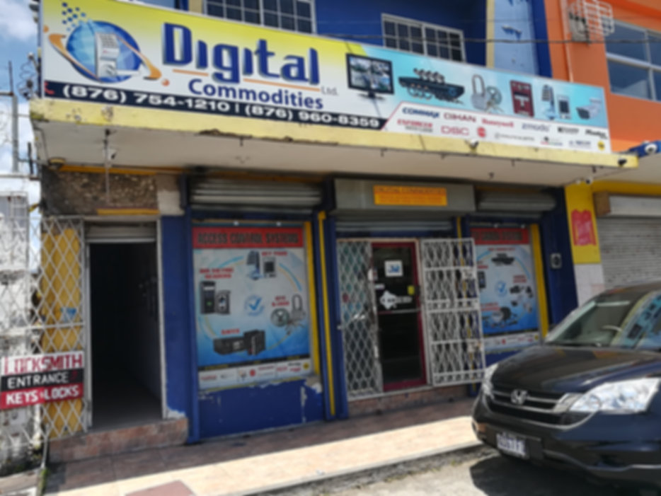 Digital Commodities building front view