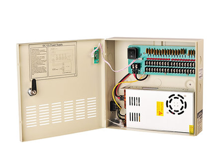 18 Output 30 Amp - CCTV Power Supply