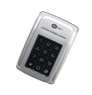 COR-ACC-960 : Outdoor Network Proximity Card Reader w/Keypad Display Metal Case