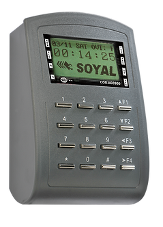 COR-ACC950 : Outdoor Proximity Card Reader with Keypad and LCD Panel