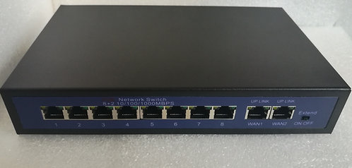 8 Port PoE Unmanaged Switch