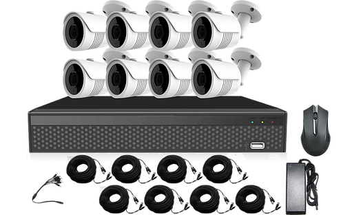 5MP 8 Channel DVR Kit