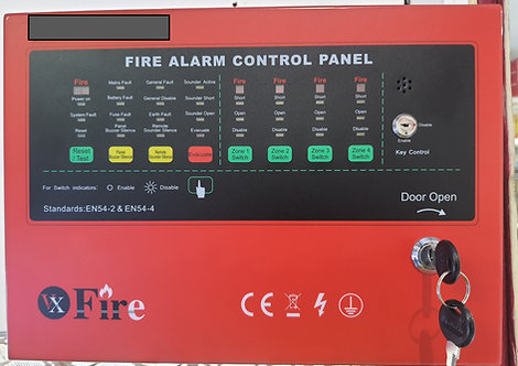VX-F4ZP : 4 Zone Fire Alarm Panel
