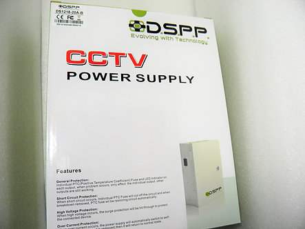 9 Output 10Amp. CCTV Power Supply