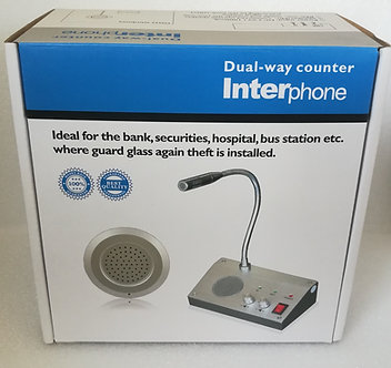 VX-BCWI : Bank Counter Window Intercom