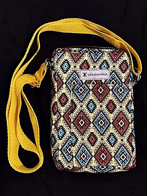 Shoulder Bag VG Indigenous Lozenges