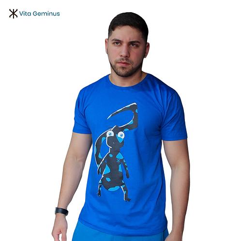 T-shirt Estampada Salamandra