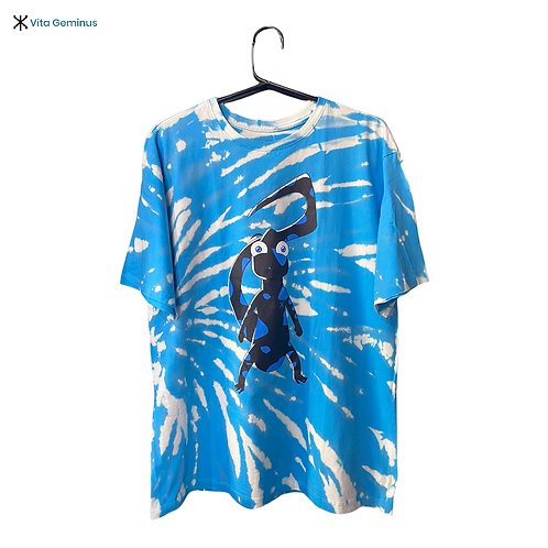 T-shirt Salamandra Tie-dye