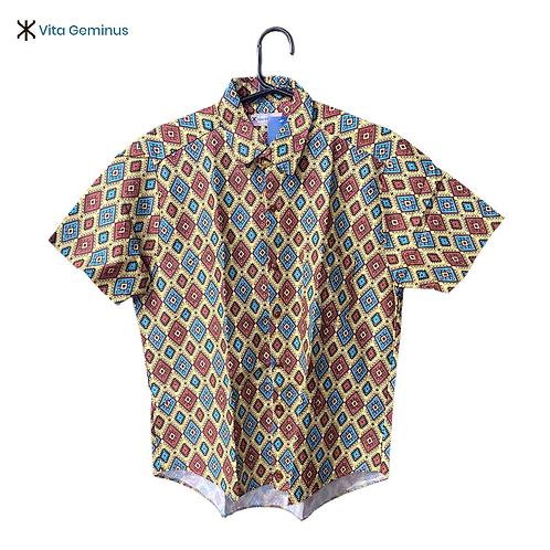 Camisa de Botão Royal Étnico Indigenous