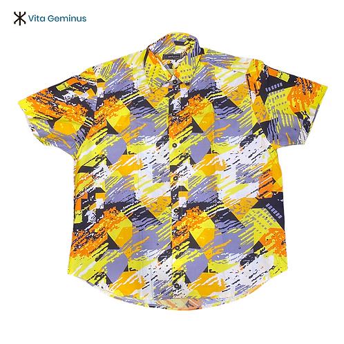 Camisa de Botão VG Royal Étnico Paint
