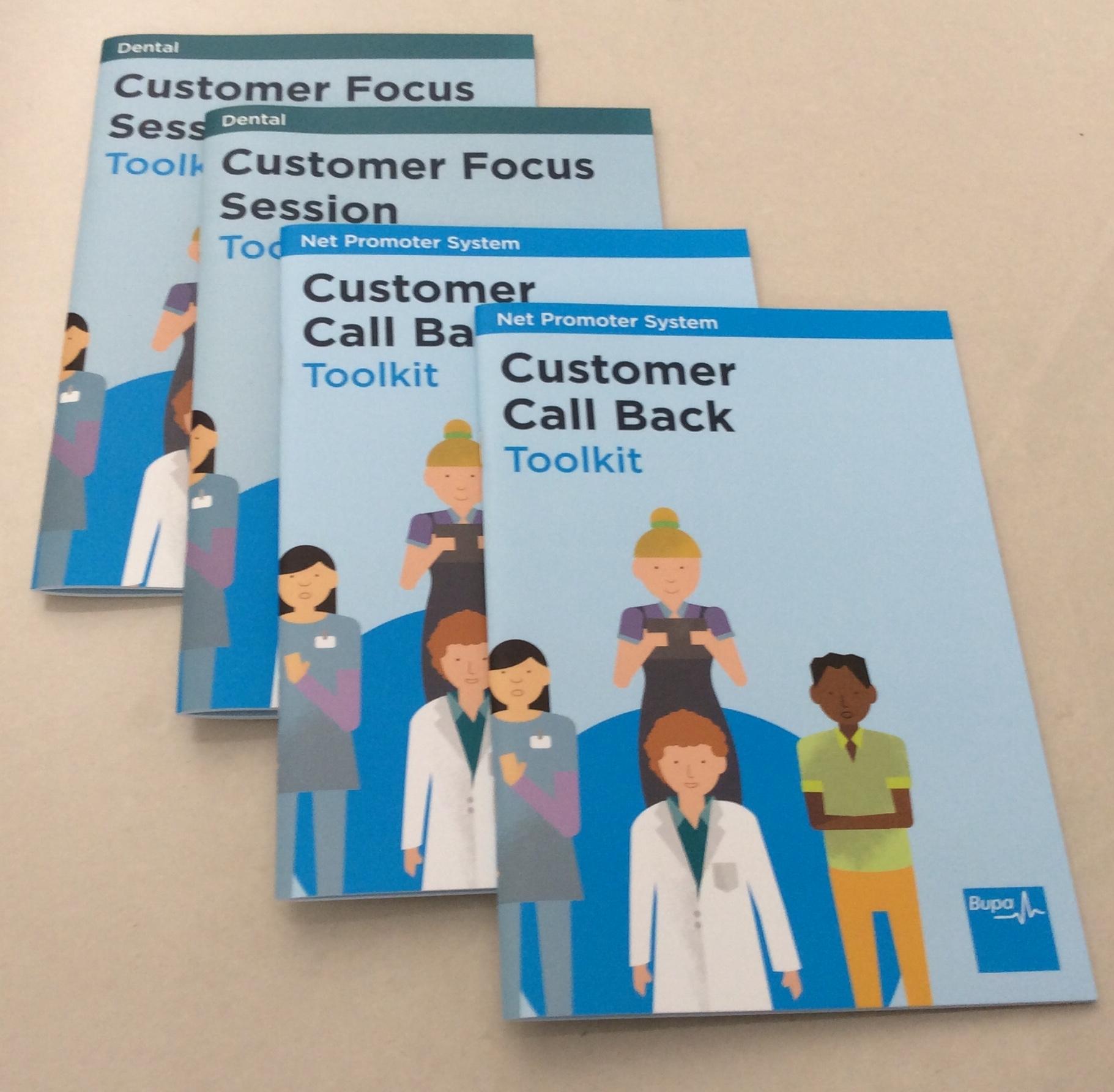 Toolkit brochures
