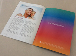 4pp Cover + 16pp Text A4 Brochure