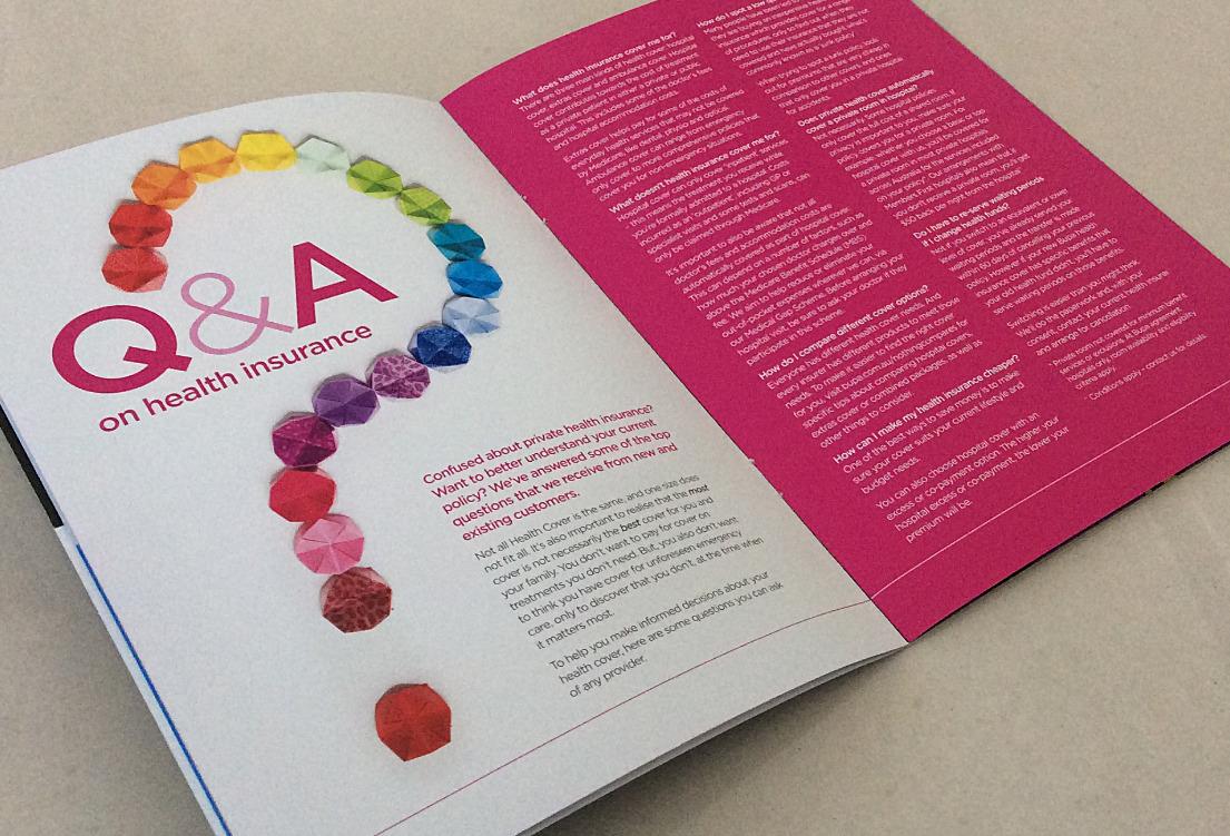 16pp A5 Self Cover Brochure