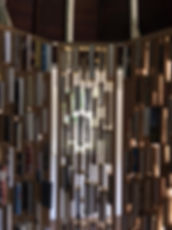 Ways of Worldmaking, MDF, books, 2019, 216 x 550 cm, Sophie Bouvier Ausländer