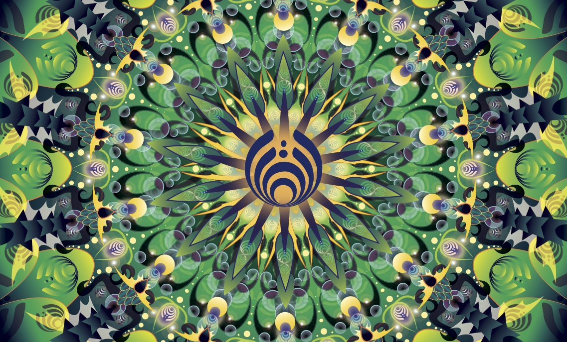 kaleidoscope - green