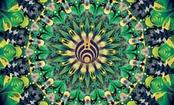 kaleidoscope - green