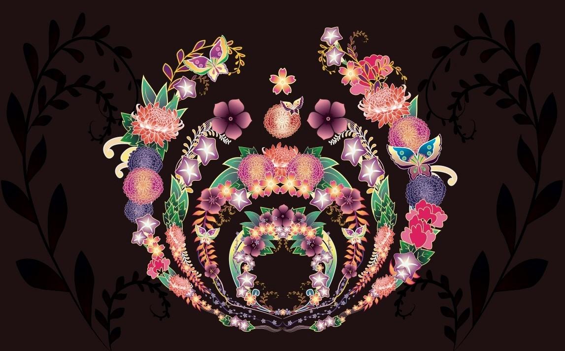 Kimono Flowers