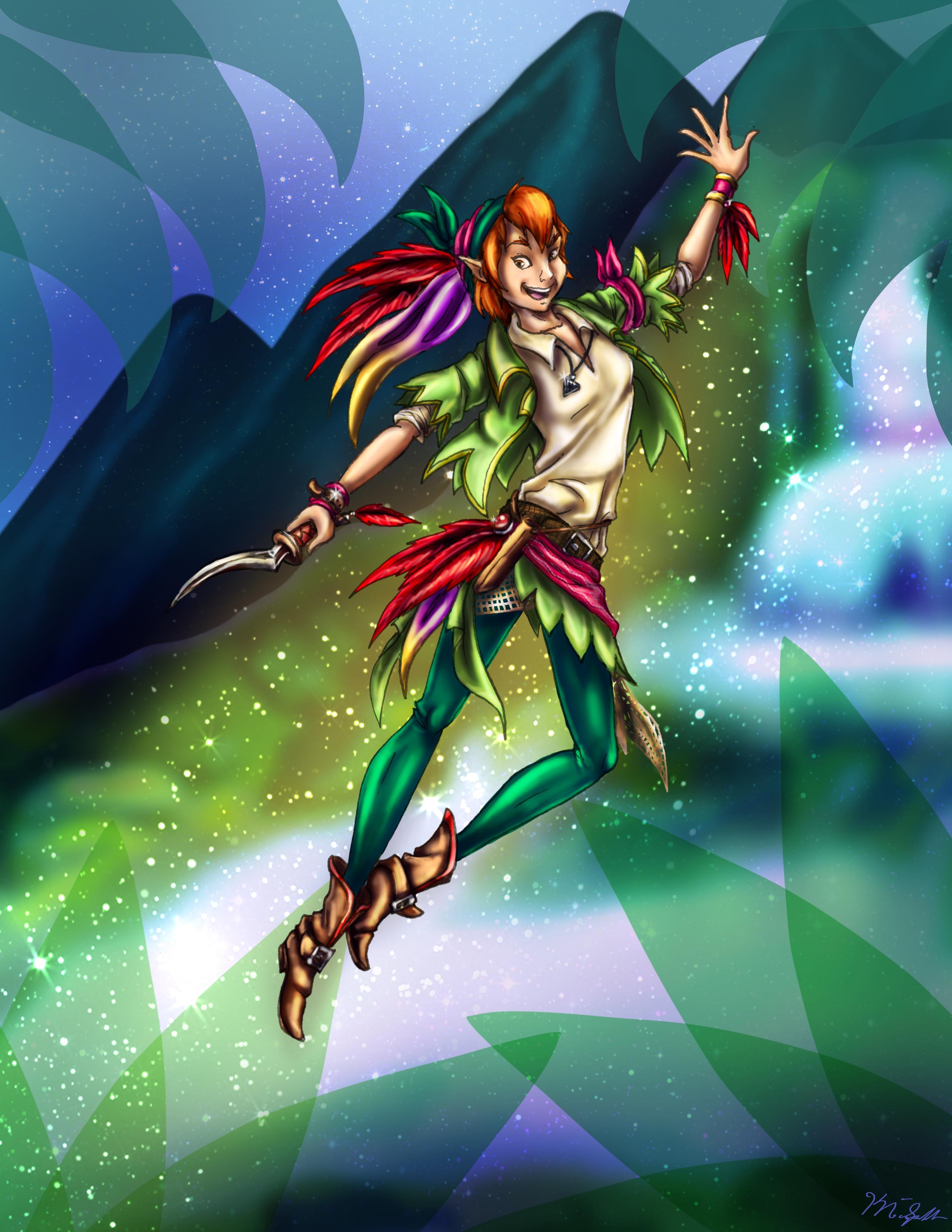 Locke Peter Pan