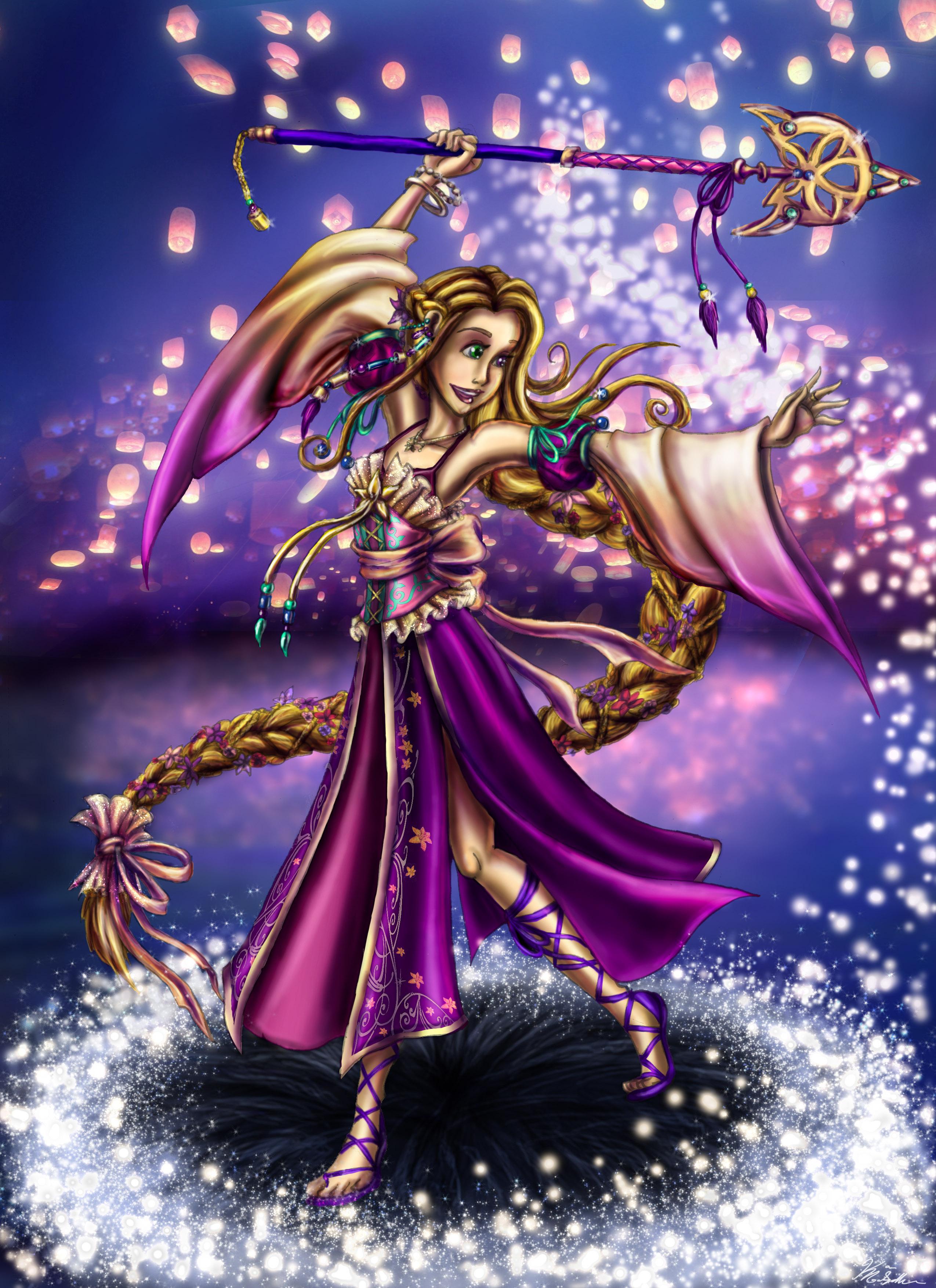 Yuna Rapunzel