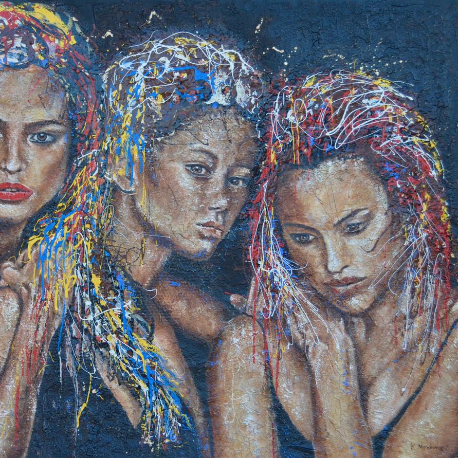 Blanche, Julie et Aglaé