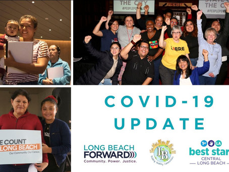 Long Beach Forward's response to COVID-19