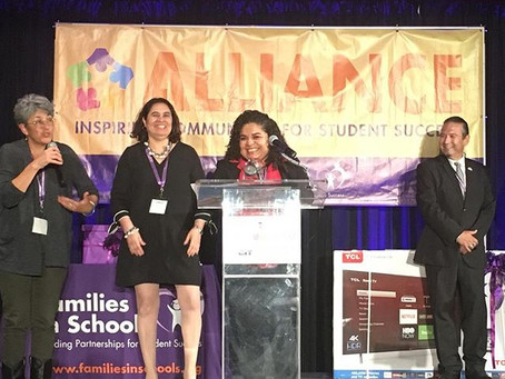 Angélica Murillo recognized as an outstanding parent leader and organizer