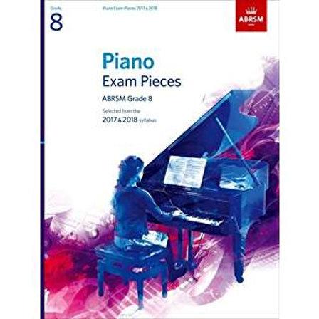 Grade 8 Piano Package