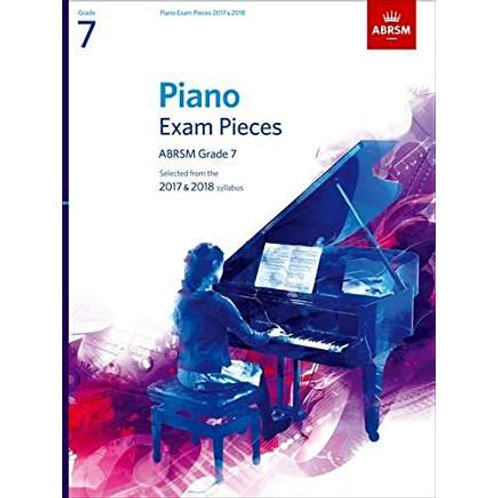 Grade 7 Piano package